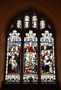 East Window at St Thomas a Becket parish church, Cliffe in Lewes