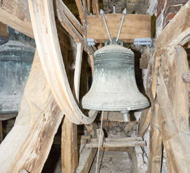 St Thomas a Becket parish church of Cliffe, Lewes bells