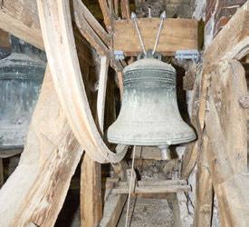 St Thomas a Becket parish church of Cliffe, Lewes bells