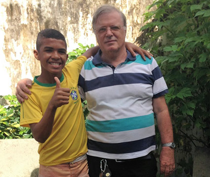 My Father' House In Brazil Is The Caring And Sharing Project Supported By The Church