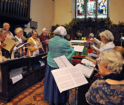 Sussex Harmony At Harvey's Thanksgiving Service, St Thomas' Church, Lewes