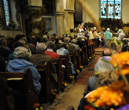 2017 Harvey's Brewery Harvest Thanksgiving Service At St Thomas A Becket, Lewes