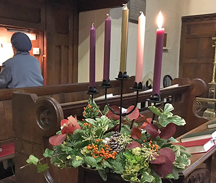 The Advent Wreath 2017