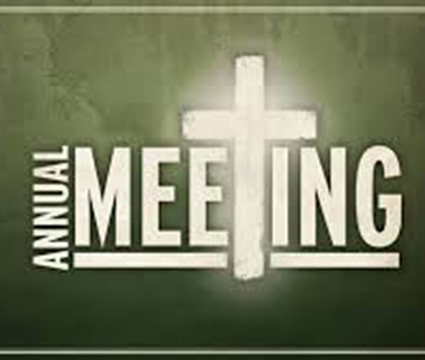 Annual Parish Meetings – 10th April