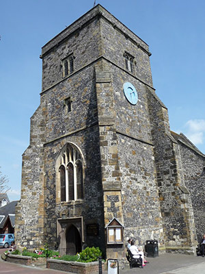 Ancient parish church of St Thomas a Becket at Cliffe, Lewes is steeped in history