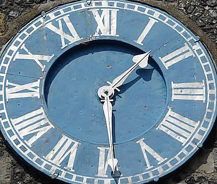 Thomas a becket clock - Lewes