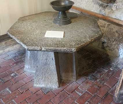 Thomas Becket Table Lewes