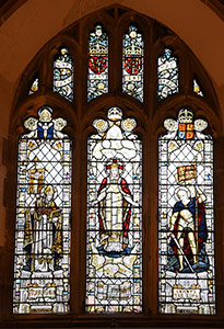 West Window at St Thomas a Becket church, Lewes