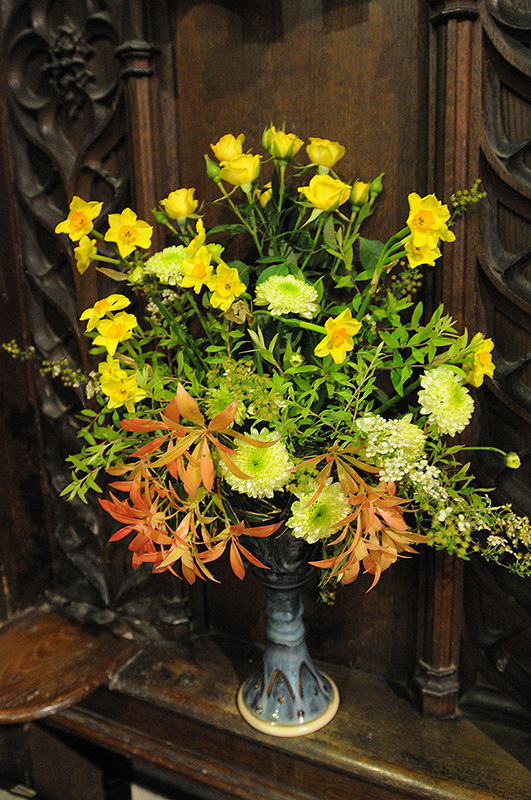 Easter Flowers At St Thomas A Becket, Lewes
