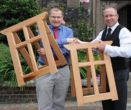 Coffin Trestles Generously Donated By Cooper And Son Of Lewes