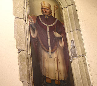 St Thomas a Becket parish church in Lewes has a wide range of historic artworks