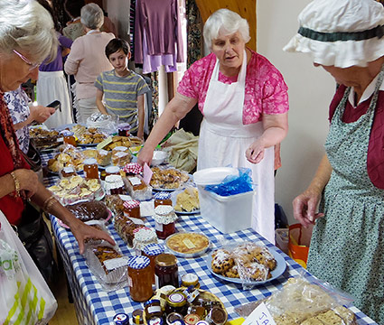 Cliffe Fair, Lewes - The Cake Stall Was Hugely Popular