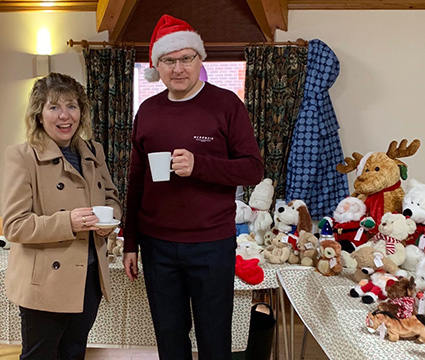Maria Caufield MP At The 2018 Christmas Fair