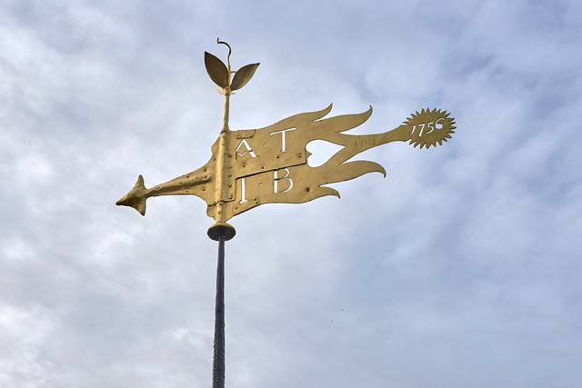 Weathervane At St Thomas A Becket Parish Church, Cliffe In Lewes
