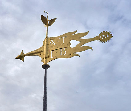 Welcome Home Weathervane